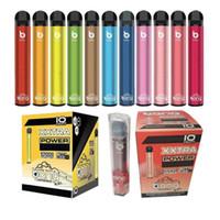 Bang XXL cigarrillos vapes desechables Dispositivo de pluma Preflillado prefabricado 6ml vapores vacíos 800mAh batterys 2000 puffs bang xxtra kit vs blow plus