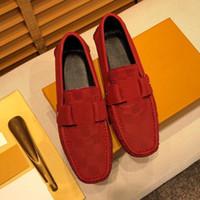 Tasarımcı Lüks Çin Erkekler Deri Loafer'lar Flats İşi Nakış Elbise Ayakkabı Slip-On Sapato Feminino Erkek Homecoming Siyah 38-46
