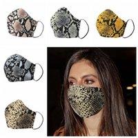 Moda Leopard Imprimir Face Masks Mask Designer Respirador à prova de poeira Respirador de ciclismo Máscaras de festa ao ar livre
