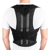 Rückenstütze Haltung Magnetische Schulter Korrektor Brace Belt Therapy Männer Frauen1