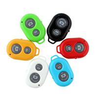 Bluetooth Adaptador del obturador remoto Selfie Cámara de control remoto Teléfono móvil Obturador inalámbrico Self Pole Remoto Shado para teléfono móvil