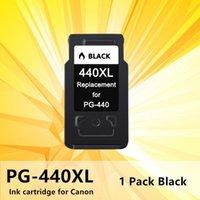 Cartuccia a getto d'inchiostro 440XL 441XL nero PG440 PG 440 441 XL per Canon Pixma MG2180 3180 4180 4280 518 378 MX438 stampante