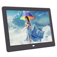 Frame Digital de 10,1 polegadas HD IPS SN Digital Photo Frame Support Photo / Música / Video / Calendário / Despertador (Plugue da UE) 1
