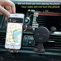 Kein Blockauto-Telefonhalter Automobilauto-Halterung Air-Entlüftung Telefonhalterung für iPhone Xiaomi Samsung GPS-Telefonhalter im Auto