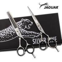 """5 """"/5.5"""" / 6 """"/6.5"""" Tijeras para el cabello Tijeras de peluquería profesional Establecer corte + adelgazamiento de cizallas de barbero de alta calidad"""