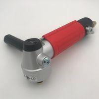 Hava Islak Parlatıcı Yan Egzoz 4 inç Islak Taş Öğütücü 4500 RPM Pnömatik Hava Araçları Zımpara Parlatma Makinesi Konu M14