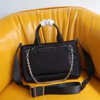 Mode Tragetaschen zweiteilige Set Schultertasche für Frauen Geldbeutel Tote Frauenhandkettengeldbeutel-Kurierbeutel Handtaschen Leinwand Geldbeutel Twinset