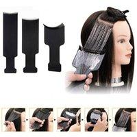 لوحة 1PC الأسود المهنية البلاستيك صالون تلوين الشعر صباغة المجلس لحلاق تصفيف الشعر تصميم اكسسوارات التصميم أدوات