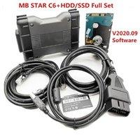 Outils de diagnostic MB STAR C6 Diagnostic VCI SD Connecter OEM DoIP Xen-Essayez avec V2021.09 Software HDD ou SSD mieux que C4 et C51