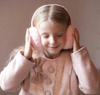 Peluş 2018 çocuk Yetişkin Sıcak Slouchy Unisex Çocuklar Kadınlar Kulaklık Earmuffs Kulak Yeni Earwarmers Güzel Kış Kapak Spor Jlxg Home003