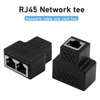 Um centavo cabo ethernet dois RJ45 engate acoplador conector LAN linha Cat7 / Cat6 / Cat5e Ethernet Extender cabo adaptador