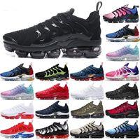 2019 новые хорошие повседневные туфли радуги полные черные белые TN красные мужчины обувь кроссовки размером 36-45 BT11