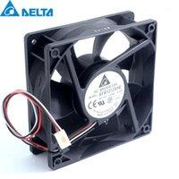 Refriolos de ventiladores AFB1212SHE 120mm 1.60A 12V Velocidad de doble bola silenciosa Control de temperatura automática Ventilador de refrigeración Capacidad del viento para 120 * 120 * 25mm1