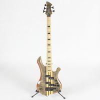 Cou de haute qualité à travers 5 cinq cordes de guitare de basse électrique Livraison gratuite