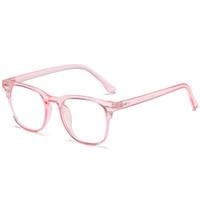 5012 إمرأة نظارات مكافحة الزرقاء عدسة الرجال نظارات النساء النظارات نمط الأزياء يحمي عيون نظارات إطار واضح عدسة قصر النظر