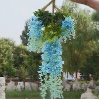 San Valentino decorazione di nozze simulazione di plastica simulazione fiore soggiorno decorazione rattan fiore verde foglia rattan glicine fiore