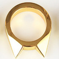 Women Men 1Pcs Safety Survival Ring Tool EDC Self Defence Stainless Steel Ring Finger Defense Ring Tool Silver Gold Color FBE9