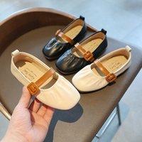 Дети Детские Мокасины Детская Девочка Детская Обувь PU Кожаная Принцесса Кровати Девочка Обувь