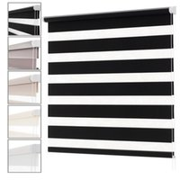 Curtain & Drapes Lucra Concept Zebra Blinds Clamp Support Without Drilling Accessories Blinds, Roller Shutter Windows
