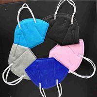 KN95 Maske Mascarilla Schutz Hohe Qualität Einweg-Erwachsener Gesicht Hersteller Staubdichte 5-Plys-Mundmasken mit schnellem