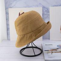 2020 Sıcak Satış Sonbahar Ve Kış Geniş Brim Şapka Moda Tüm Maç Rahat Katı Kova Şapka Fedora Şapka En Kaliteli Sıcak Satış Bonnet