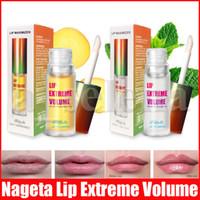 Nageta améliore les lèvres de plumes de soins essence huile gingembre gingembre menthe poivrée lèvre masque lèvre baume plante lèvre extrême volume