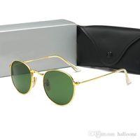 Outdoor Luxurys Box Sunglasses Fashion Men Pilot Women UV400 Vintage Sport 2021 Sunglasses Brand Eyewear Glass With Lens Designer And C Wkpi