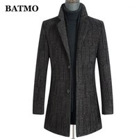 Batmo 2020 Новое Прибытие Осень Довери высокого качества Трешевое пальто Мужчины, Мужские Куртки, Плюс Размер M-XXXL 28871