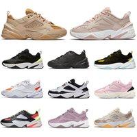 nike m2k tekno  عالية الجودة أحذية عارضة ريترو M2k تيكنو للمرأة أبي حذاء بيج أسود جميع الأبيض كامو المدربين الرجال النساء حجم مصمم أحذية 36-45