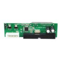 Компьютерные кабели разъемы PATA IDE TO SATA Hard Drive Adapter 3.5 HDD Serial ATA Конвертер преобразования