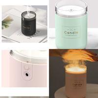 Diffuser Luftbefeuchter Aroma Ätherisches Öl USB Haushalts mini nette Solid Color Lampe Schlaf Purifier Einfachheit Persönlichkeit Diffusoren 34ld K2