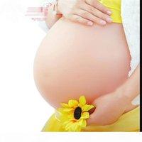 Silikon-Zwillinge-Viererbrüche Falscher Bauchbaby-Bauch Falsches schwanger künstlicher Bump für falsche Schwangerschaft freies Verschiffen