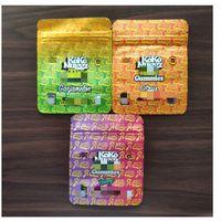 Yeni Koko Nuggz Runtz Gummies Ambalaj Çantalar Süper Meyve Lezzet Mikserler 500mg Mylar Çanta Boş İlaçlı Ekşi Gökkuşağı Paketleme Çantası