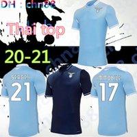 20 21 Lazio Jersey Jersey 120th 2020 2021 Camisa de Futebol Luis Alberto Immobile Sergej Homens Kits Kits Maillot Maglia Correa Corozozo Marusic