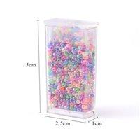 1000pcs / lote 2 mm Color de caramelo Cuello de semillas de vidrio Cuentas de vidrio checo Collar de pulsera de bricolaje para joyería haciendo joyas JLLLRJG