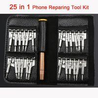DIY Cell Phone Reparing tool 25 in 1 Repair Pry Kit Opening Battery Replace Tools Pentalobe Torx Slotted screwdriver For Phone computer lapt