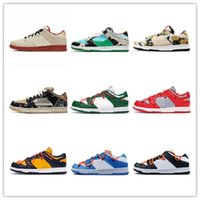 2020 Wholesale new Mens Womens Runing Shoes SB Dunks Low Ken...