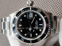 2020-2021 V2 BP Factory Старинные часы 40 мм Черный керамический набор 2813 Движение Автоматические мужские наручные часы