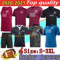 Neue 2020 Seeland Super Rugby-Trikots 19 20 Weltcup Newseeland Rugby-Hemd 100-jährige Jubiläums-Gedenkausgabe Jersey Polo S-3XL
