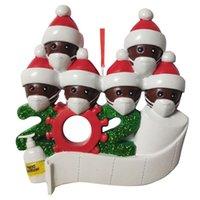 3D смола рождественские орнамент кулон семьи подарок украшения рождения вечеринка украшения санта Клаус рождественские украшения