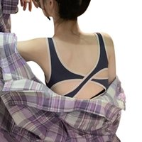 New Women Yoga Shirts Breathable Mesh Shockproof Push Up Fit...