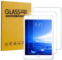 """Screen Protector Temperiertes Glas passt iPad 10.2 """"9.7"""" 12.9 """"Selbstverhalten löschen Sie einfach, um den Siebschutz zu installieren"""