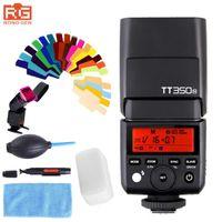 Godox350N Mini Speedlite 2.4G HSS D750 D7000 D7100 D5100 D5200 D5000 D3200 için 1 / 8000sL GN36 Kamera Flaş Speedlite