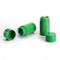Fabrika Toptan Ambalaj Şişeleri 30g 40g Katı Balsamı Sopa Ambalaj Özel Yuvarlak Mat Şeffaf Allık Deodorant Konteyner