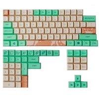 Dye Fetish PBT KeyCaps Xad Profile Mint Latte Keycaps Set completi GK64 Sublimazione Type Keycap per tastiera meccanica1