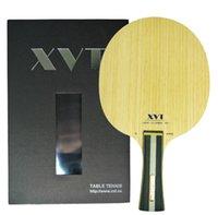 Lama da tennis da tavolo in carbonio XVT ZL Koto ZLC di alto livello / Ping Pong Blade / Ping pong Piscina Spedizione gratuita 201116