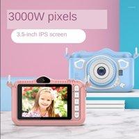 3.5 inç HD Kamera Video Selfie Mini SLR Çocuk Taşınabilir Çocuk HD Dijital Kamera Sevimli Karikatür Oyuncak Doğum Günü Hediyesi1