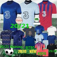 التايلاندية 20/21 pulisic kante abraham lampard جديد لكرة القدم الفانيلة giroud camiseta كرة القدم قميص havertz ziyech الرجال مجموعات الاطفال
