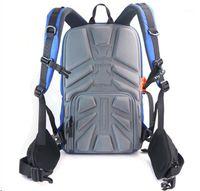 Bolsas de cámaras, cajas de fundas - Bolsa de hoja de hoja Mochila antirrobo con capacidad para laptop de 15 '' para DSLR SLR1
