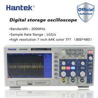 Hantek DSO5202P numérique Oscilloscope 200MHz bande passante 2 canaux LCD USB PC portable osciloscopio Portatil Outils électriques